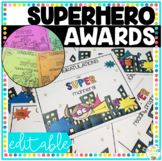 End of the Year Awards Super hero