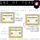 End of Year Awards | Superlative Awards | End of the Year