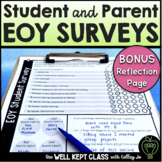End of Year Surveys