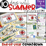 End of Year: Themed Days Classroom Countdown (Survival Kit) for 3-4