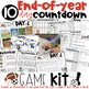 End of Year Lesson Plans: Themed Days Classroom Countdown (Survival Kit) for 3-4