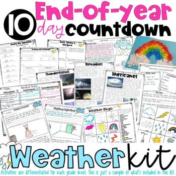 End of Year: Themed Days Classroom Countdown (Survival Kit) for 5-6