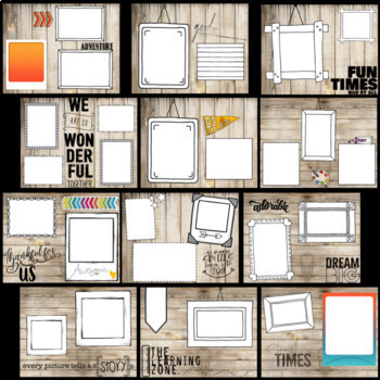End of Year Task Cards- Editable