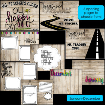 End of the Year Activities Task Cards- Editable