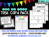 End of Year Task Cards PACK