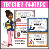 End of the Year Teacher Awards Gifts