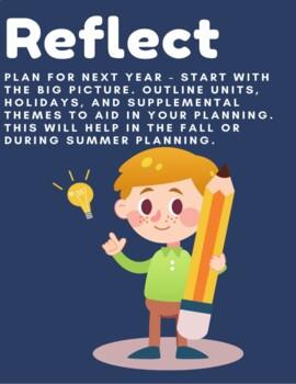 End of Year Teacher Checklist