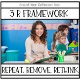 End of Year Teacher Reflection   3 R Framework