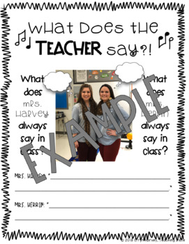 End of Year - Teaching Sayings - Editable