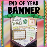 End of Year Thank You Banner