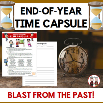 End of Year Time Capsule Activity