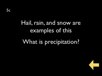 Trivia Jeopardy Game #4