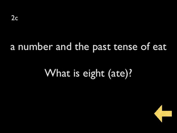 Trivia Jeopardy Game 5
