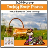 End of Year Virtual Event Teddy Bear Picnic Distance Learn