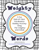 Vocabulary Enrichment with The Weighty Word Book