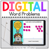 End of Year Word Problems Digital Activity   Distance Learning