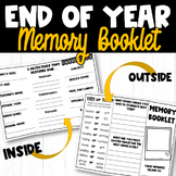 End of School Year Writing Activity
