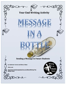 End of Year Writing Activity - Letter to Future Students