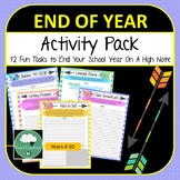 End of Year Writing & Activity Pack - Fun End of Year Task