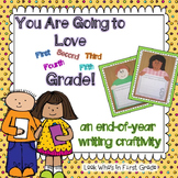 End of Year Writing Craftivity