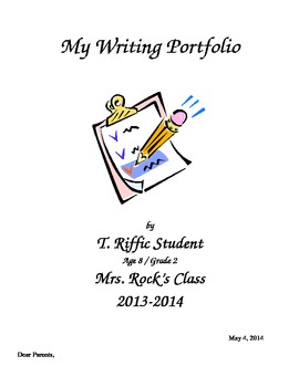 End of Year Writing Portfolio