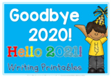 New Years Writing 2020-2021 Printables