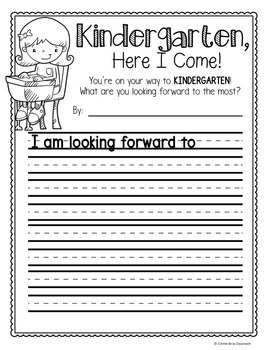 End of Year Writing Prompt: K-2