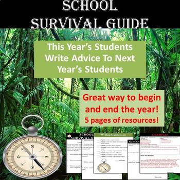 End of Year Writing - School Survival