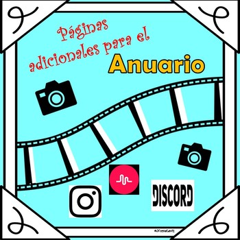 End of Year- Yearbook Insert For Teens (In Spanish)
