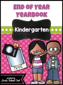 End of Year Yearbook: Kindergarten