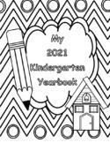 End of Year Yearbook Kindergarten 2021!