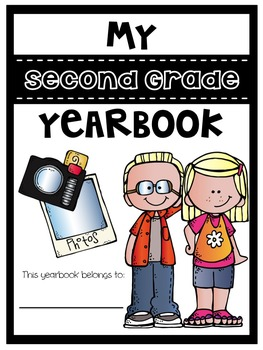 End of Year Yearbook: Second Grade