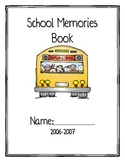 "End of Year ""cute""  Memory Book..."