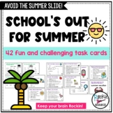 End of Year or Summer Activity Cards