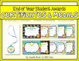 End of Year (or anytime!) Student Awards: *EDITABLE* Certi