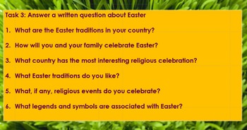 End of term: Easter Around the World