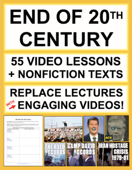 End of the 20th Century Complete U.S. History Unit