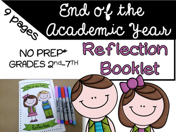 End of the Academic Year- Reflection Booklet