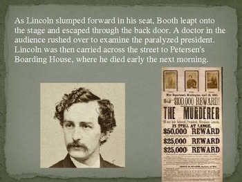 End of the Civil War: Abraham Lincoln