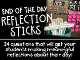 End of the Day Reflection Sticks