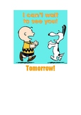 End of the Day Routine (Peanuts Style)