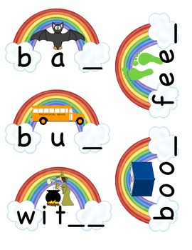 End of the Rainbow Final Consonants Center