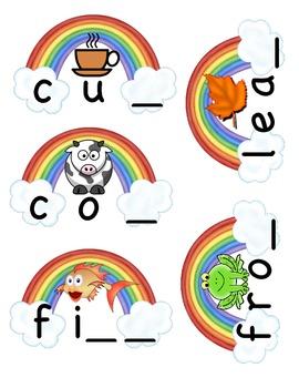 End of the Rainbow Final Consonants Center