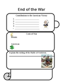 End of the Revolutionary War Worksheet