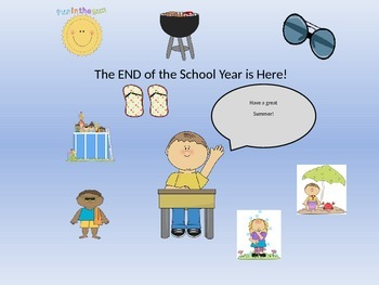 End of the School Year Activity Pack