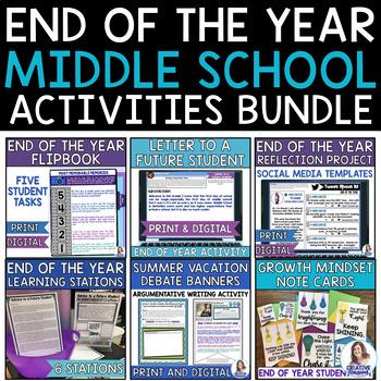 End of the School Year Bundle: Fun Last Days of School!