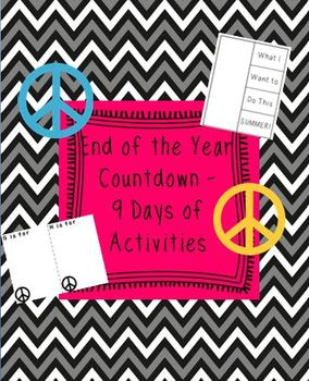 End of the School Year Countdown Activities