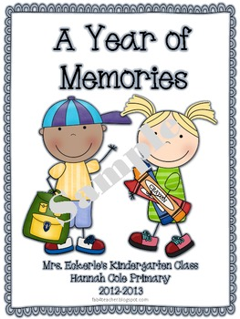 Memory Book ~ A Look Back Through the Year