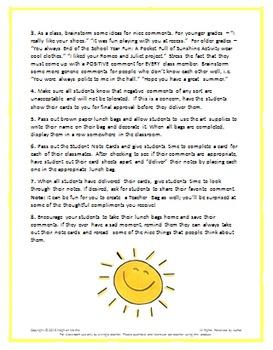 End of the School Year Fun:  Pocketful of Sunshine