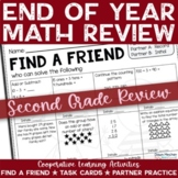 End of the Year Math Review Activities for 2nd Grade